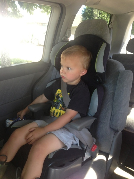 My baby boy is big enough now to sit in a big-boy carseat. How is this possible, and where have the last almost 3 years gone?!